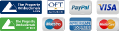 Image of different credit /debit cards you can pay abode conveyancing with